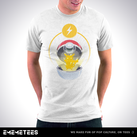 Let's GO with Electricity (męska koszulka t-shirt)