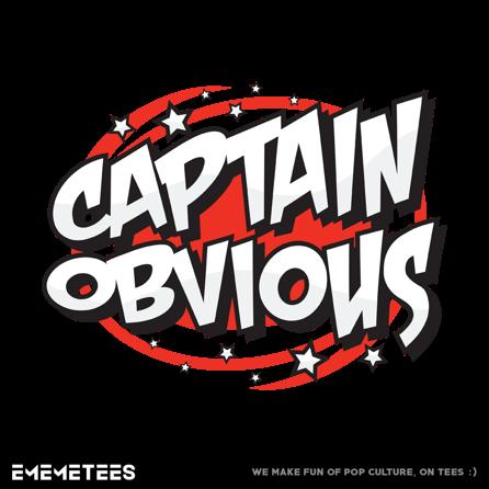 captain obvious ememetees pop culture t shirts and more