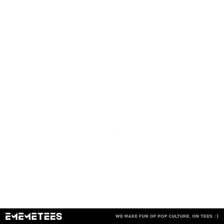 Keep Calm and Fus Ro Dah (męska koszulka t-shirt)