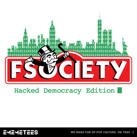 FSOCIETY Board Game