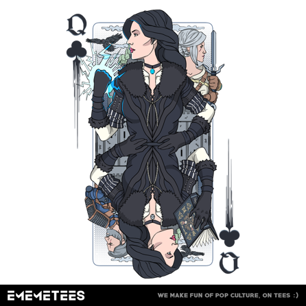 Sorceress of Clubs