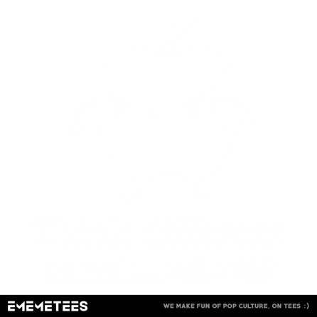 Think Different (damska koszulka t-shirt)