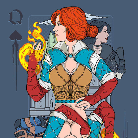 Sorceress of Spades