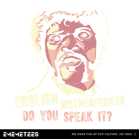 English Motherfucker (damska koszulka t-shirt)