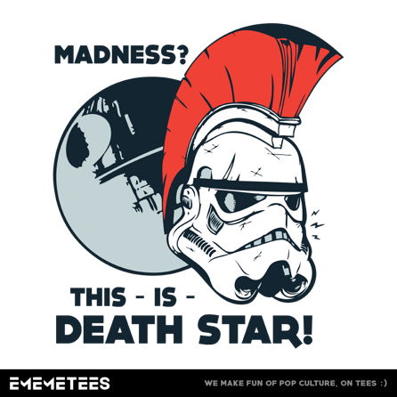 This Is Death Star (męska koszulka t-shirt)
