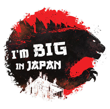 Big In Japan (męska koszulka t-shirt)