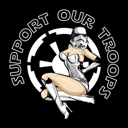 Support Our Troops (męska koszulka t-shirt)