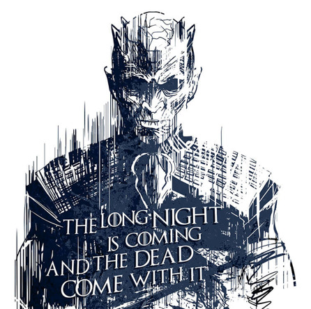 The Long Night is Coming (męska koszulka t-shirt)