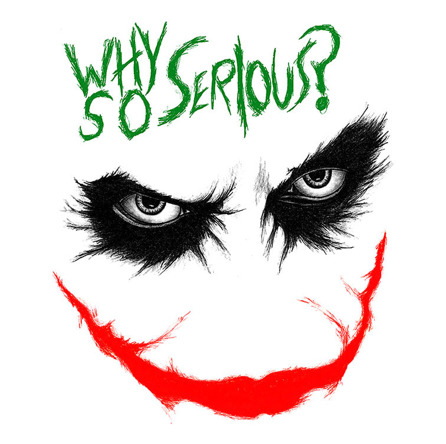 Why So Serious? (męska koszulka t-shirt)