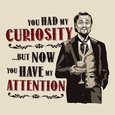 You HAD My Curiosity (męska koszulka t-shirt)