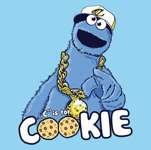 C Is For COOKIE (męska koszulka t-shirt)