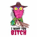 I Want You B-tch (męska koszulka t-shirt)